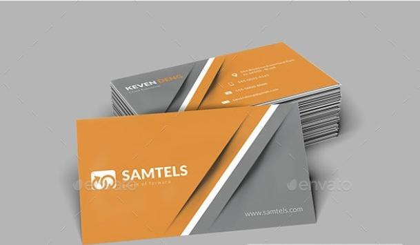 طرح لایه باز کارت ویزیت (شماره 3)