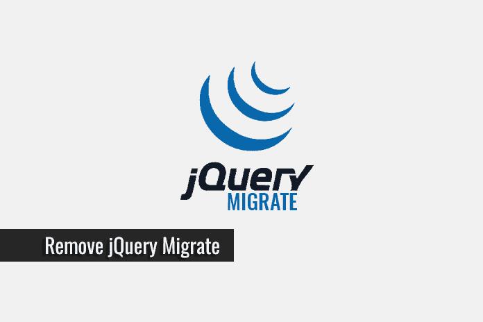 حذف Jquery Migrate از صفحات وردپرس