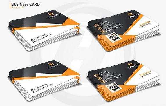 طرح لایه باز کارت ویزیت (شماره 11)